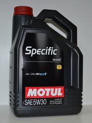 Продам моторное масло Motul Specific Dexos2 5W-30. 5 л